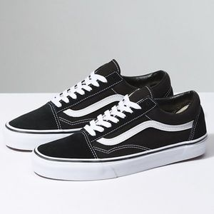 VANS • old school classic black & white sneaker